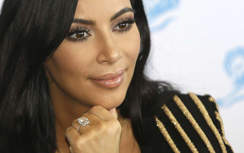 © Getty Kim Kardashian has become the most dangerous celebrity to search for. (AP Photo/Lionel Cironneau, File)